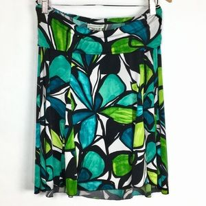 Motherhood Maternity Stretchy Colorful Skirt S